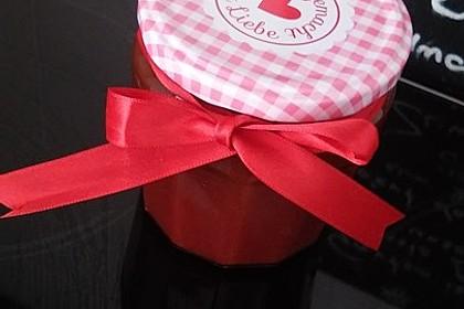 Erdbeermarmelade mit Vanille 20
