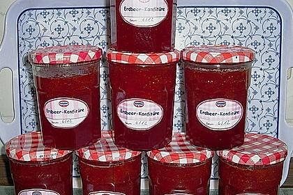 Erdbeermarmelade mit Vanille 19