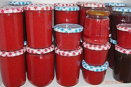 Erdbeermarmelade mit Vanille 17