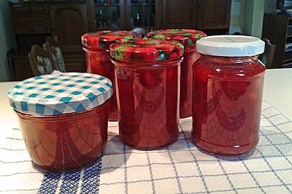 Erdbeermarmelade mit Vanille 27