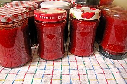 Erdbeermarmelade mit Vanille 15