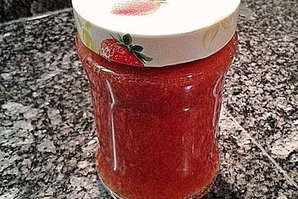 Erdbeermarmelade mit Vanille 23