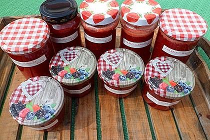 Erdbeermarmelade mit Vanille 25