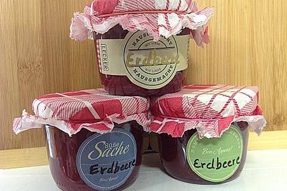 Erdbeermarmelade mit Vanille 4