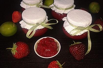 Erdbeermarmelade mit Vanille 7