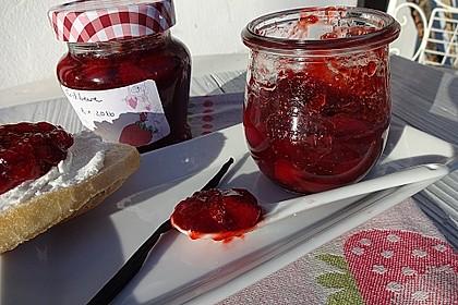 Erdbeermarmelade mit Vanille 10