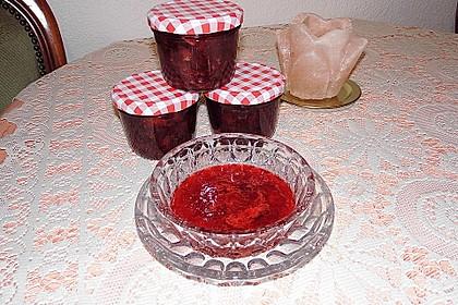 Erdbeermarmelade mit Vanille 12