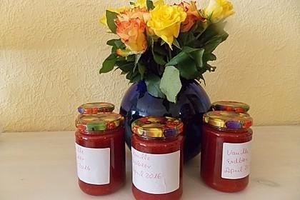 Erdbeermarmelade mit Vanille 16