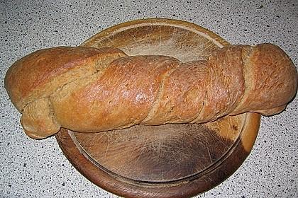 Buttermilch - Wurzelbrot mit Sauerteig 20