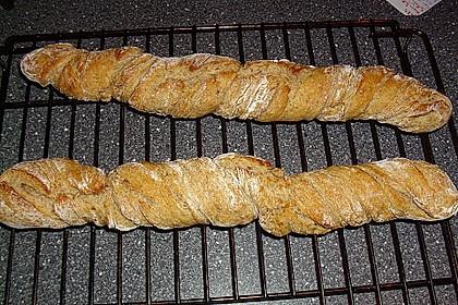 Buttermilch - Wurzelbrot mit Sauerteig 16