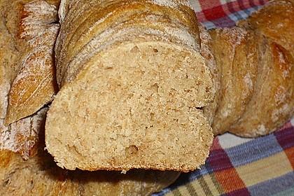 Buttermilch - Wurzelbrot mit Sauerteig 14