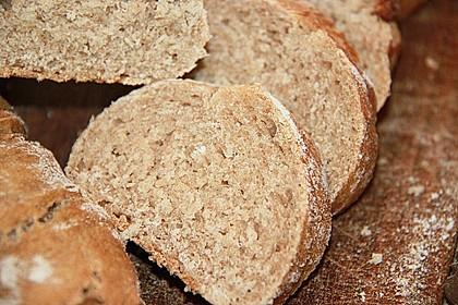 Buttermilch - Wurzelbrot mit Sauerteig 10