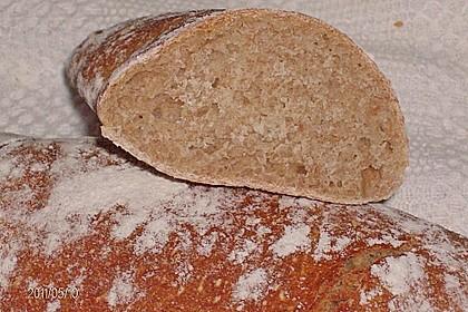 Buttermilch - Wurzelbrot mit Sauerteig 25