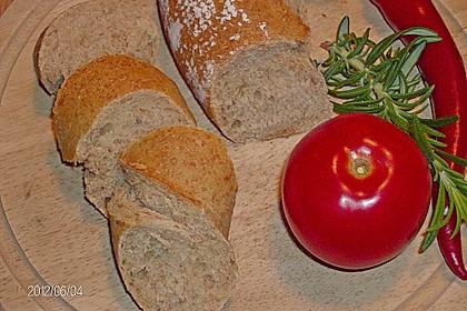 Buttermilch - Wurzelbrot mit Sauerteig 26