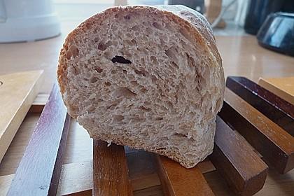 Buttermilch - Wurzelbrot mit Sauerteig 17