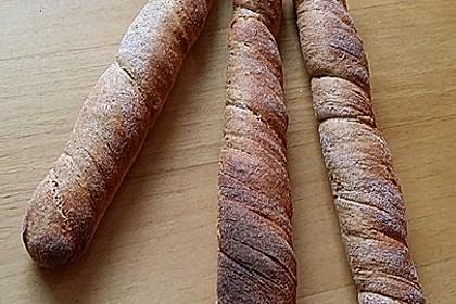 Buttermilch - Wurzelbrot mit Sauerteig 30