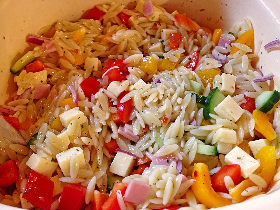 Kritharaki Salat Salatkrönung
