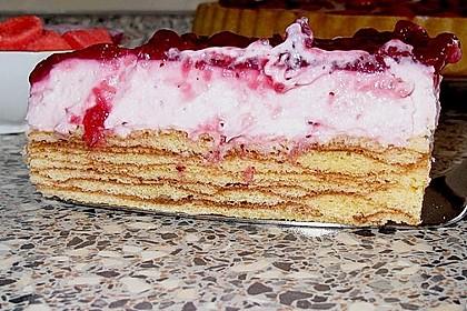 Preiselbeer - Baumkuchen - Torte 7