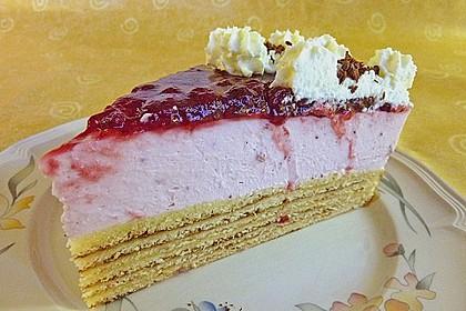 Preiselbeer - Baumkuchen - Torte 4