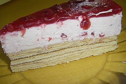 Preiselbeer - Baumkuchen - Torte 3