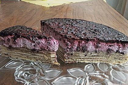 Preiselbeer - Baumkuchen - Torte 12