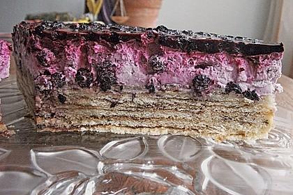 Preiselbeer - Baumkuchen - Torte 11