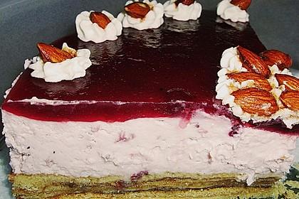 Preiselbeer - Baumkuchen - Torte 8