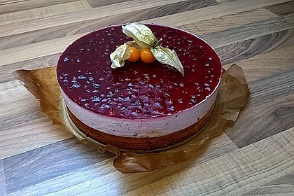 Preiselbeer - Baumkuchen - Torte
