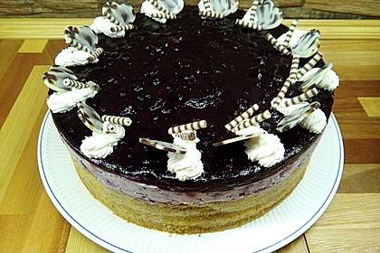 Preiselbeer - Baumkuchen - Torte 2