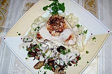 Putenschnitzel mit Sherry - Lebkuchensauce