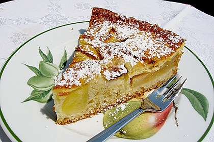 Französische Apfeltarte 2