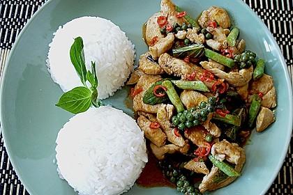 Stir - Fried Spicy Chicken with Green Peppercorns