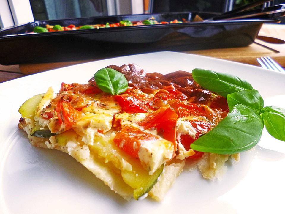 zucchini tomaten quiche rezept mit bild von melini. Black Bedroom Furniture Sets. Home Design Ideas