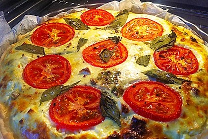 Zucchini - Tomaten - Quiche 2