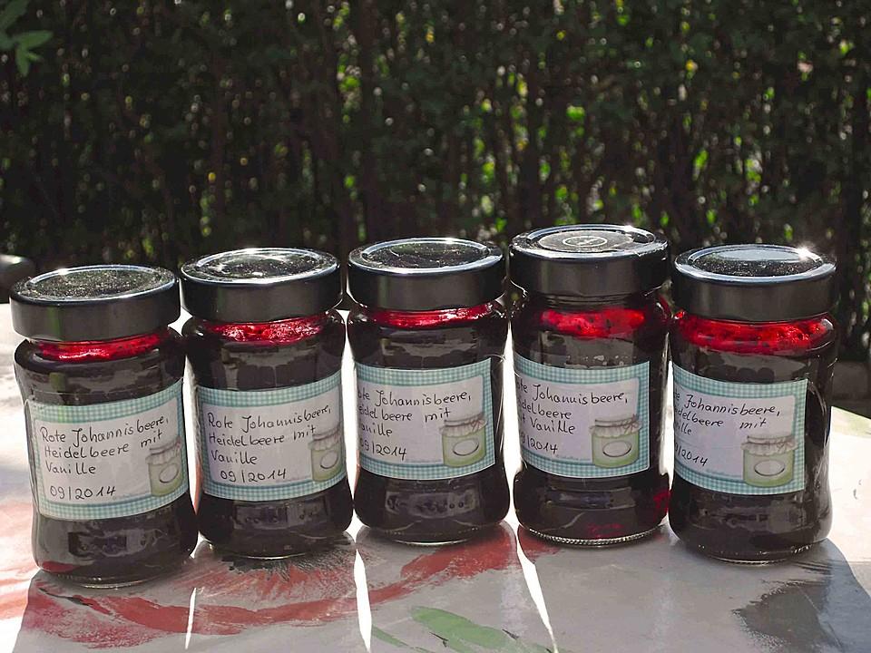 johannisbeer blaubeer marmelade rezept mit bild. Black Bedroom Furniture Sets. Home Design Ideas
