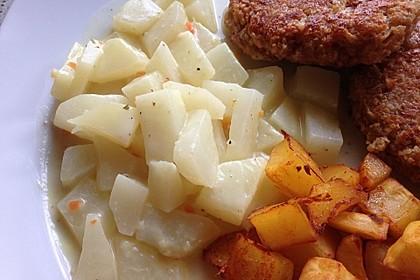 Kohlrabi in Zitronensauce 7