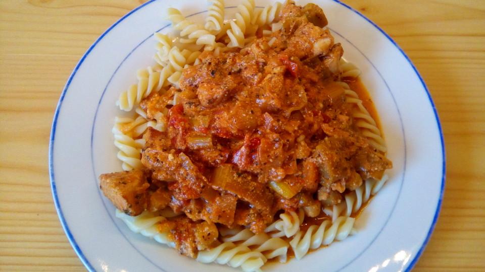 Sommerküche Italienische : Geflügelgeschnetzeltes italienische art von brataj chefkoch