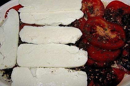 Halloumi - Hirse - Tomaten - Auflauf 3