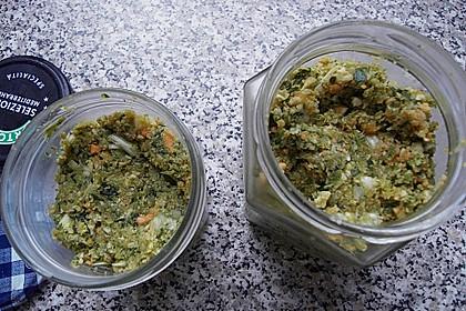 Eingesalzenes Gemüse für Gemüsebrühe 30