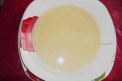 Kartoffel-grüner Spargel-Suppe 11