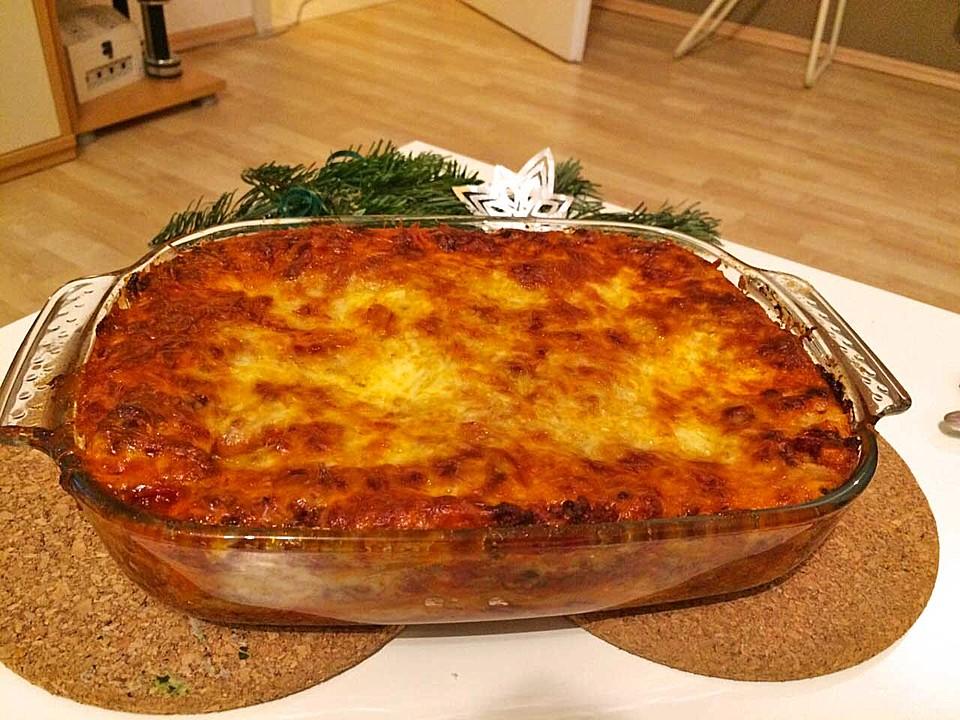 leckerste lasagne der welt von bellagiora. Black Bedroom Furniture Sets. Home Design Ideas