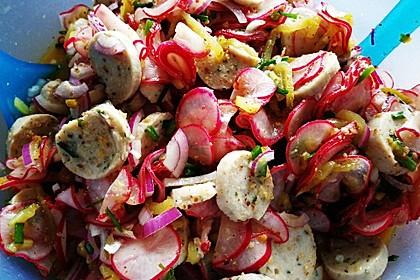Rettich - Weißwurst - Salat 15