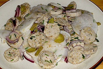 Rettich - Weißwurst - Salat 20
