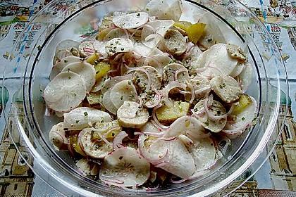 Rettich - Weißwurst - Salat 23