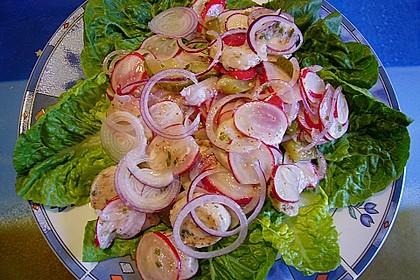 Rettich - Weißwurst - Salat 17