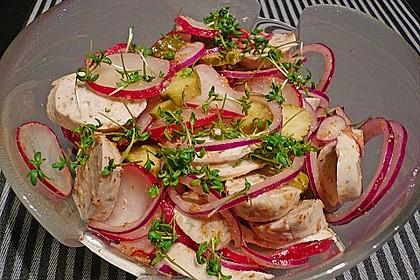 Rettich - Weißwurst - Salat 10