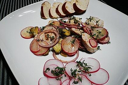 Rettich - Weißwurst - Salat 9