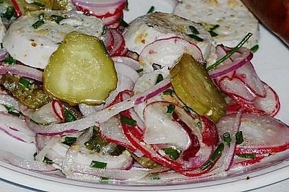 Rettich - Weißwurst - Salat 19