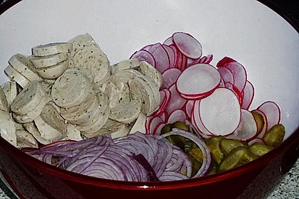 Rettich - Weißwurst - Salat 24
