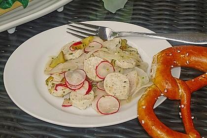 Rettich - Weißwurst - Salat 3